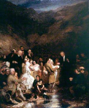 The Covenanter's Baptism
