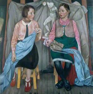 Two Schoolgirls