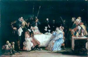 John Knox Dispensing the Sacrament