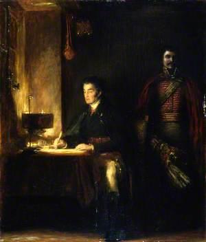 The Duke of Wellington Writing Dispatches