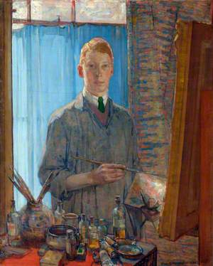 The Painting Student