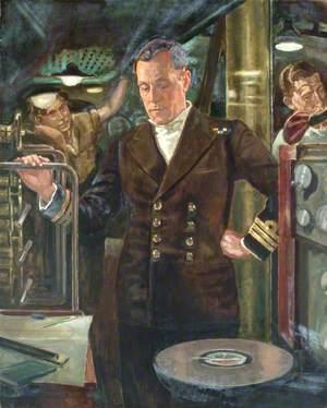 Captain Benjamin Bryant, RN, DSO, and Two Bars