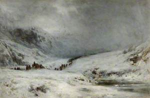 The Passage of Montrose's Army through Glencoe (The Legend of Montrose)