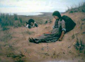 Idling on the Sands, Forvie, Aberdeenshire