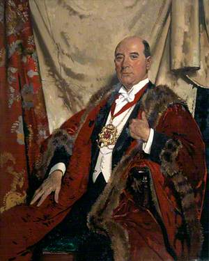 Sir Andrew Lewis, LLD, Lord Provost of Aberdeen
