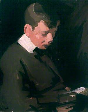 Boy Reading (The Artist's Son)