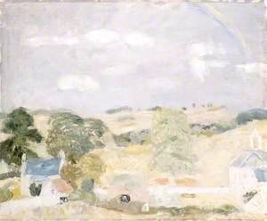 Landscape, Temple