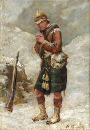 A Gordon Highlander in the Afghan War