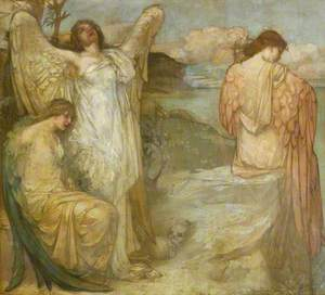 Orpheus: Bacchantes on the Shore