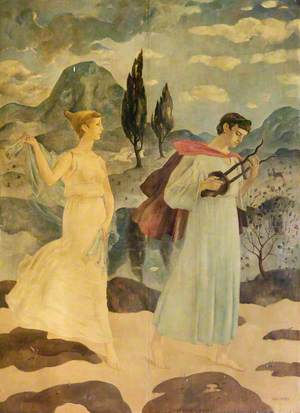 Orpheus: The Wooing of Eurydice