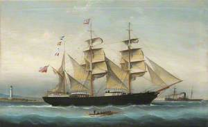 The Clipper Barque 'Lady Gertrude'