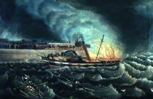Loss of the Steam Boat 'Brilliant'