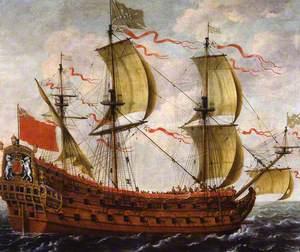 A Scottish Warship
