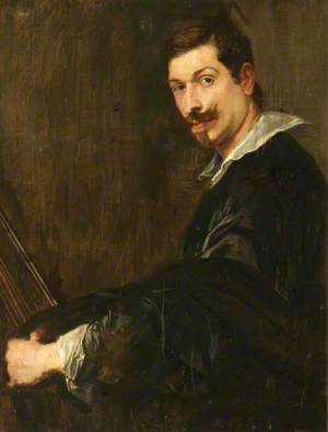 Man with a Lute