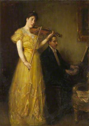 J. G. Burnett and Mrs Burnett