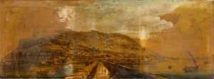 View of Gibraltar, Taken by Henry Aston Barker, from the Devil's Tongue Battery, in September 1804