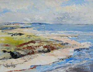 Coast Line near Montrose, Angus