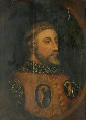 Portrait of an Early Scottish King
