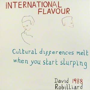 International flavour: cultural differences melt when you start slurping