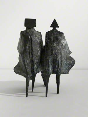 Cloaked Couple I
