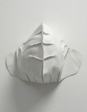 Untitled (Leather Helmet Cap)