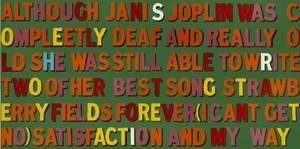 Although Janis Joplin … (Idiot Board)