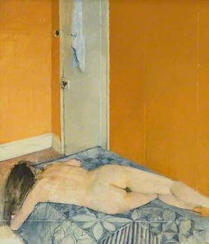 Interior: Nude on a Bed
