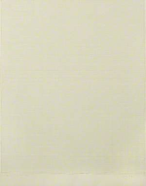 White Drawing, Light Grey Intervals V