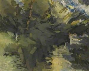 'River Epte' (2) (Oil)