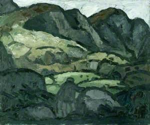 Landscape at Llanaelhaearn