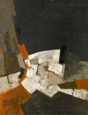 Composition, Black and Grey