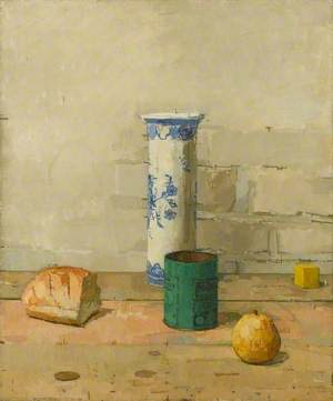 Still Life with Delft Jar