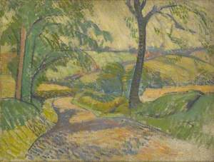 Lane to Walton, Staffordshire