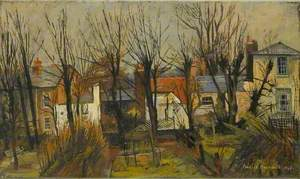 Backs of Houses, Keats Grove, Hampstead