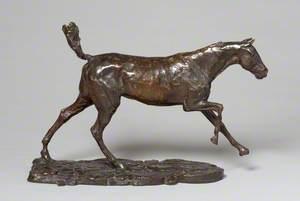 Horse Galloping on Right Foot / Ceffyl yn Carlamu ar ei Droed Dde