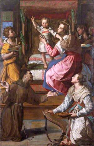 Virgin and Child with Saints Francis and Lucy