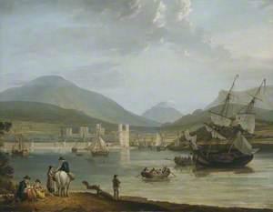 Caernarvon Castle and Bay