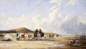 Crossing the Sands to Swansea Market