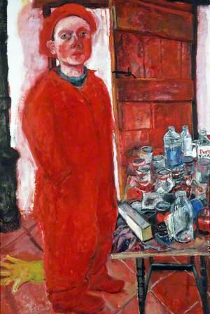 Red Self Portrait