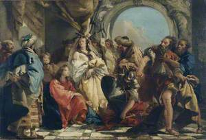 Christ and Women Taken in Adultery
