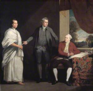 Omai (c.1753–c.1776/1777), Sir Joseph Banks (1743–1820), and Dr Daniel Solander (1736–1782)