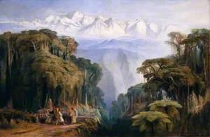 Kinchenjunga from Darjeeling