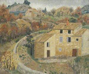 Landscape: Vallée de L'Ouvéze