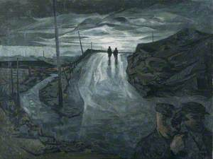 Miners Returning on a Wet Evening