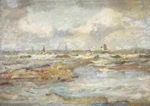 Rough Sea, Yorkshire