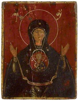 Icon of The Virgin Blachernitissa
