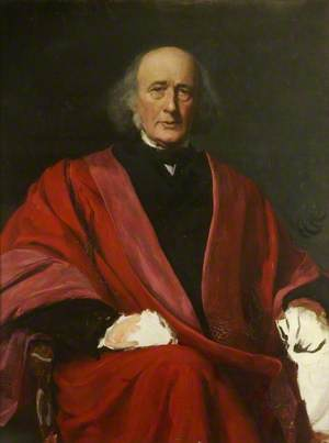 Study of Sir Henry Wentworth Acland