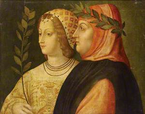 Petrarch and Laura de Noves