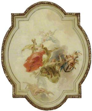 Triumph of the three Christian Virtues