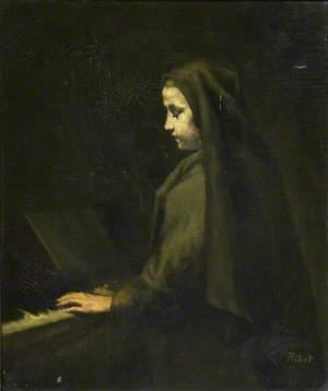 A Woman at the Piano